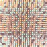 Piksli sześciany Bezszwowy wzór dla tapety, strony internetowej tło Zdjęcia Stock