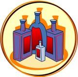 piktogram alkoholu Zdjęcia Stock