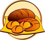 Piktogramm - Bäckerei Stockbilder