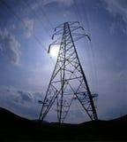 Pilão da eletricidade Foto de Stock