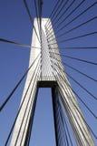Pilão da ponte de Anzac fotos de stock