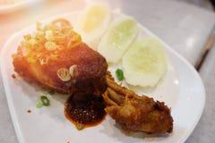 Pilão de galinha Imagem de Stock Royalty Free