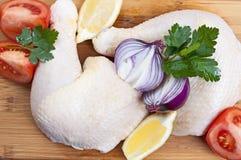 Pilão de galinha Imagens de Stock Royalty Free