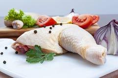 Pilão de galinha Imagens de Stock