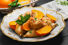 Pilão de galinha cozido Fotografia de Stock Royalty Free