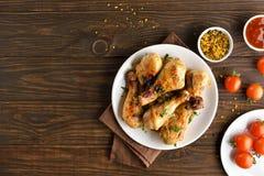 Pilão de galinha grelhado imagem de stock