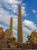 Pilão no templo de Karnak Imagem de Stock