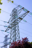 Pilón de alto voltaje Foto de archivo libre de regalías