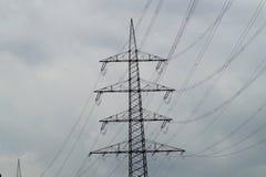 Pilón de Electriciti Imagen de archivo