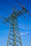 Pilón de la electricidad Imagen de archivo