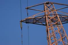 Pilón de la electricidad Fotografía de archivo libre de regalías
