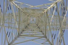 Pilón de la transmisión de potencia Fotos de archivo