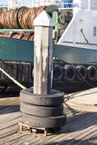 Pilón del muelle del canotaje Imagenes de archivo