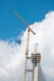 Pilón del puente Foto de archivo libre de regalías