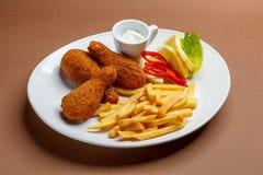 Pilões de galinha Imagem de Stock
