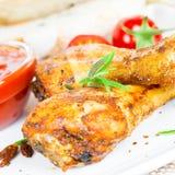 Pilões de galinha Imagem de Stock Royalty Free