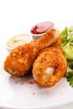 Pilões de galinha Roasted imagens de stock royalty free