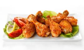 Pilões de galinha Roasted imagem de stock royalty free