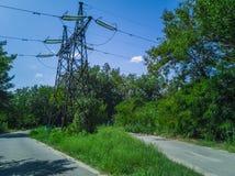 pilões 92-Electricity Imagens de Stock