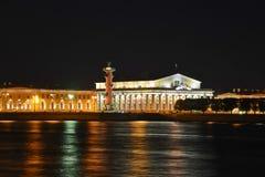 Pil av den Vasilevsky ön Royaltyfria Bilder