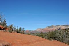 pil bruten trail Arkivbild