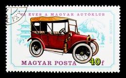 Pil 1915, 75th årsdag av ungersk serie för bilklubba Royaltyfria Bilder