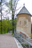 The pil-Tower pavilion.Pavlovsk. Saint-Petersburg. Russia. Stock Image