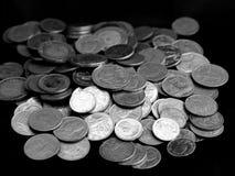 Pila 1 dei soldi Fotografia Stock