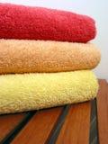 Pila 6 de la toalla Fotografía de archivo