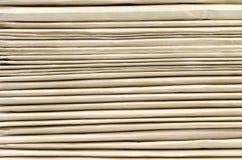 Pila alta di cartelle di archivio cartaceo Immagini Stock Libere da Diritti