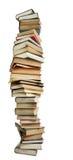 Pila alta di libri Fotografia Stock