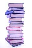 Pila alta di vecchi libri Immagine Stock Libera da Diritti