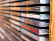 Pila cd di musica Fotografia Stock Libera da Diritti