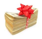 Pila dólar americano Fotografía de archivo libre de regalías