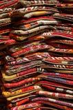 Pila de alfombras Imágenes de archivo libres de regalías