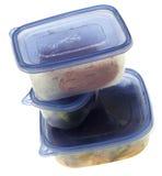 Pila de alimento de sobra foto de archivo libre de regalías