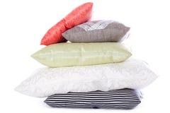 Pila de almohadas Imagenes de archivo
