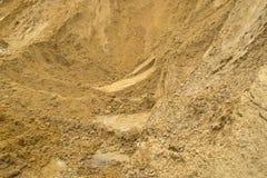Pila de arena Imagen de archivo libre de regalías