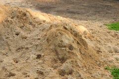 Pila de arena Foto de archivo libre de regalías