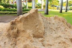 Pila de arena Fotos de archivo libres de regalías