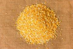 Pila de arenas de maíz Fotografía de archivo