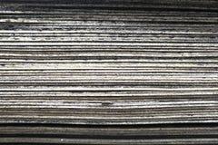 Pila de baldosa de goma vieja, capa Fotos de archivo libres de regalías