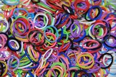 Pila de bandas del telar Foto de archivo libre de regalías