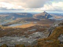 Pila de Ben, montañas, Escocia imagen de archivo libre de regalías