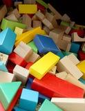 Pila de bloques Imagenes de archivo