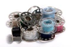 Pila de bobinas Imágenes de archivo libres de regalías