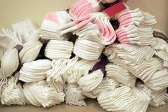 Pila de calcetines fotografía de archivo libre de regalías