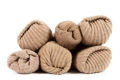Pila de calcetines Foto de archivo libre de regalías