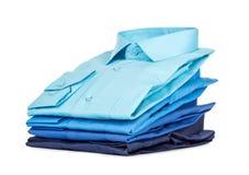 Pila de camisas, fotografía de archivo libre de regalías