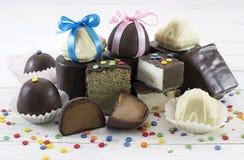Pila de caramelos adornados Foto de archivo